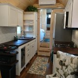 The Luxury 40 from Hummingbird Tiny Housing - Kitchen view