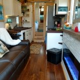 The Luxury 40 from Hummingbird Tiny Housing - Living roomview