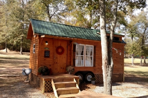 Sage Tiny house one example of skirting we can add (Custom)